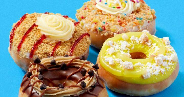 "Krispy Kreme: Debuts ""Dessert Mini doughnut"" collection with flavors inspired by non-doughnut desserts"